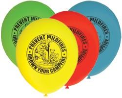 Smokey Bear Balloons